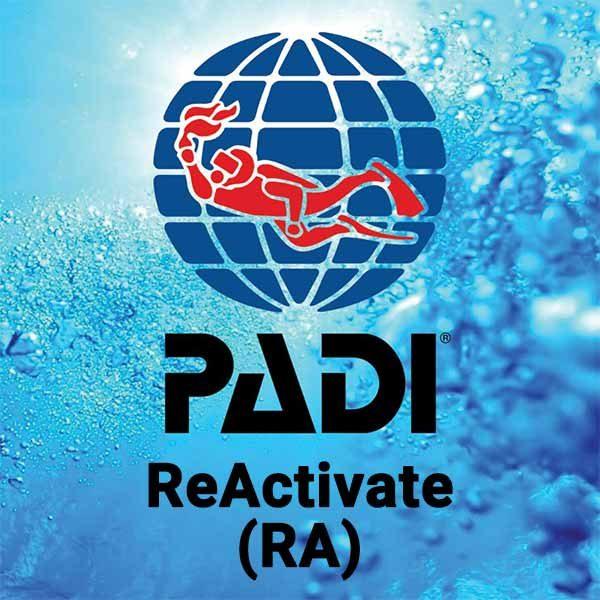 Buceo CID Lanzarote - Curso PADI Reactivate
