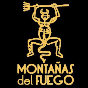 Logotipo Montañas del Fuego. Descubrir Lanzarote. Autor: CACT Lanzarote