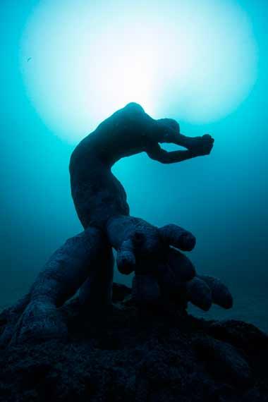 Museo Atlántico de Lanzarote. Jardín híbrido. Autor: CACT Lanzarote - Jason deCaires Taylor