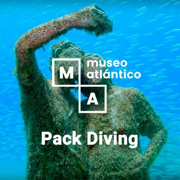 Pack Diving Museo Atlántico