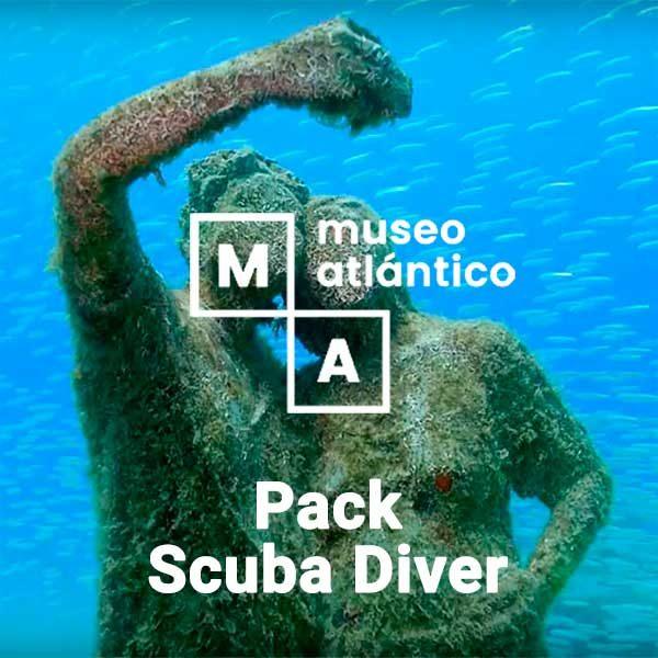Pack PADI Scuba Diver