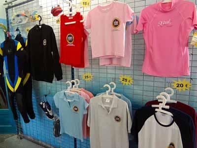 Tienda Buceo CID Lanzarote