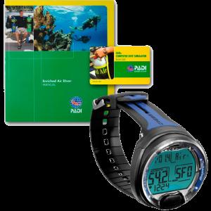 Oferta ordenador Cressi Leonardo y curso PADI Enriched Air Diver