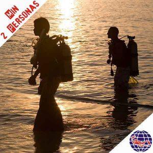 Oferta. Bautizo de buceo en el mar 1 inmersión (PADI DSD)