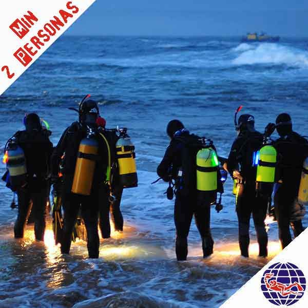 Oferta. Pack de 6 inmersiones con equipo completo